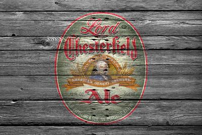 Lord Chesterfield Ale Print by Joe Hamilton