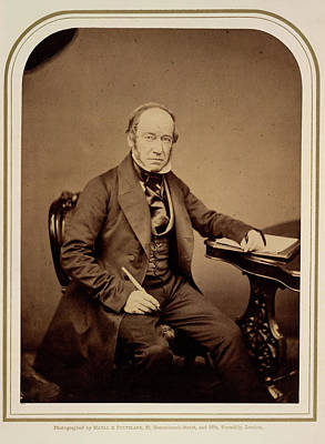 Abbott Photograph - Lord Colchester by British Library