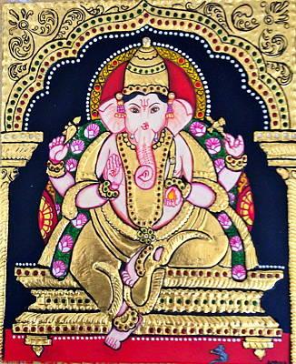 Lord Ganesha Print by Ambika Aggarwal