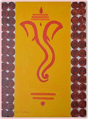 Lord In My Dreams Print by Sonali Gangane