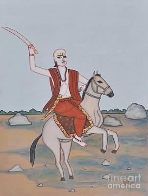 Lord Kalki Print by Pratyasha Nithin