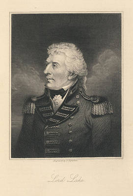 Lord Lake Print by British Library