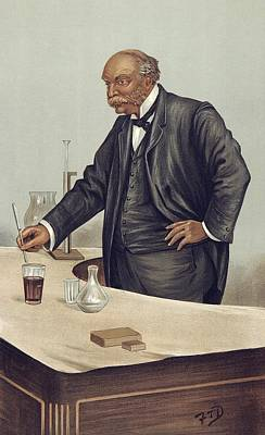Lord Rayleigh Discovering Argon, 1894 Print by Science Photo Library