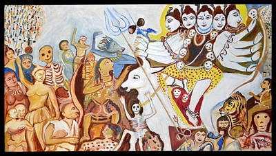 Lord Siva's Marriage Procession Original by Anand Swaroop Manchiraju