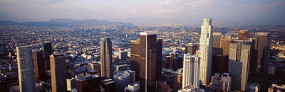 Rooftop Photograph - Los Angeles, California, Usa by Panoramic Images