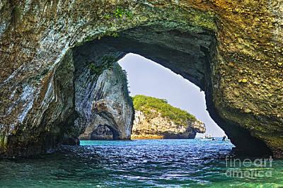 Puerto Vallarta Photograph - Los Arcos Marine Park by Elena Elisseeva