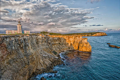 Tourism Photograph - Los Morrillos Light In Puerto Rico by Andres Leon