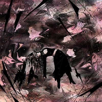 Born Again Digital Art - Lose My Life by Rachel Christine Nowicki