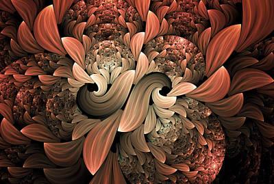 Lost In Dreams Abstract Print by Georgiana Romanovna