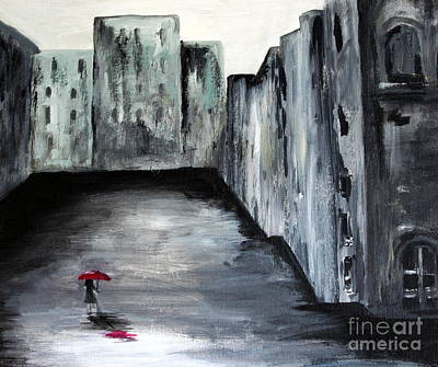 Julie Lueders Artwork Painting - Lost In Life by Julie Lueders