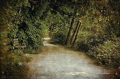 Lost Lagoon Path Print by Maria Angelica Maira