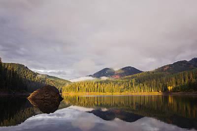 Lost Lake - Kittitas County - Washington - October 2013 Print by Steve G Bisig