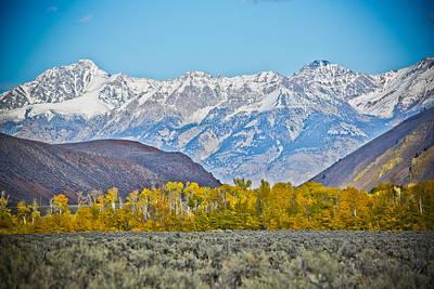 Decor Photograph - Lost River Range by Steve Smith