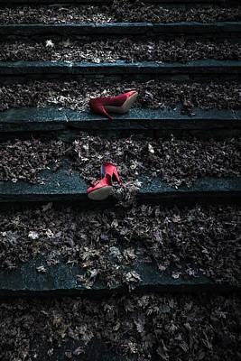 Lost Shoes Print by Joana Kruse