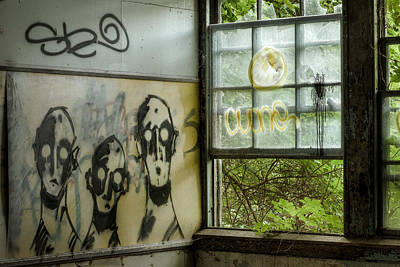 Lost Souls - Abandoned Places Print by Gary Heller