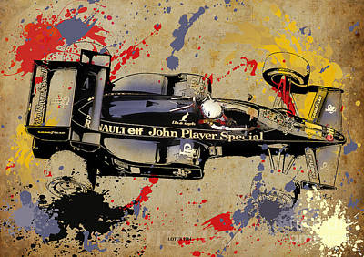 1984 Digital Art - Lotus 1984 by Pablo Franchi
