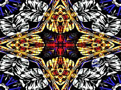Digital Art - Lotus Pond by Janet Russell