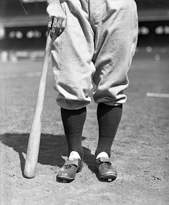 Iron Photograph - Lou Gehrig Of The New York Yankees by Retro Images Archive