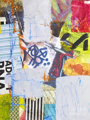 Crayons Mixed Media - Loud Silence by Elena Nosyreva