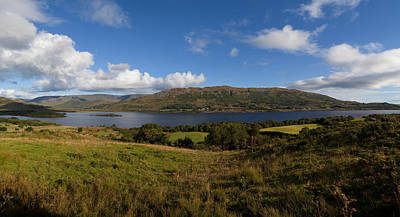 Connemara Photograph - Lough Mask, At Clogh Brack Upper, An by Panoramic Images