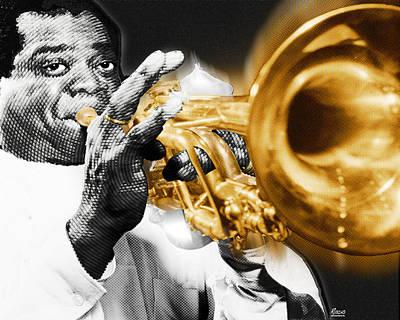 Louis Armstrong Original by Tony Rubino