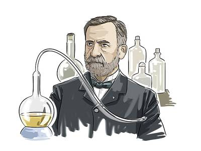 Anthrax Photograph - Louis Pasteur by Harald Ritsch