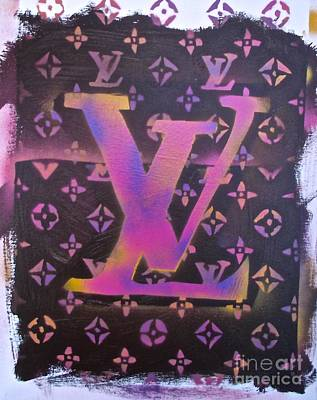 Tony B. Conscious Painting - Louis Vuitton Print by Tony B Conscious