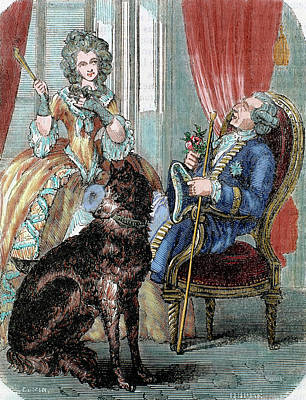 Madame Photograph - Louis Xv (1710-1774 by Prisma Archivo