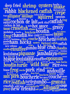Louisiana Cajun Heaven 20130625 Print by Wingsdomain Art and Photography
