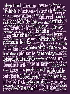 Louisiana Cajun Heaven 20130625bwmag Print by Wingsdomain Art and Photography