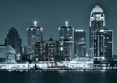 Silver City Photograph - Louisville Monochrome by Frozen in Time Fine Art Photography