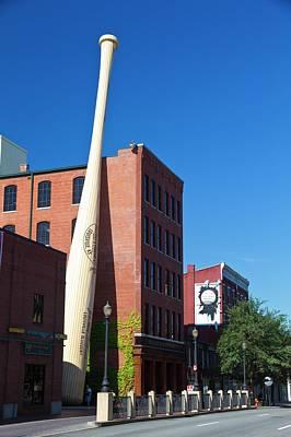 Factory Photograph - Louisville Slugger Baseball Bat Factory by Photostock-israel