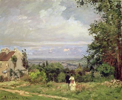 Louveciennes, 1870 Print by Camille Pissarro