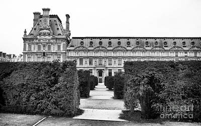 Paris Photograph - Louvre Garden by John Rizzuto