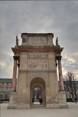 Horizontal Photograph - Louvre - Paris France - 01131 by DC Photographer