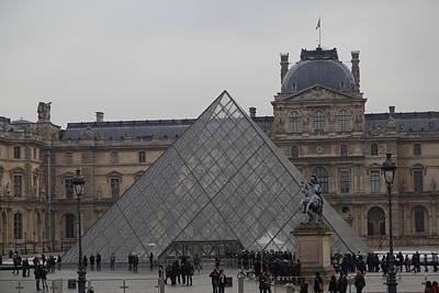France Photograph - Louvre - Paris France - 011314 by DC Photographer