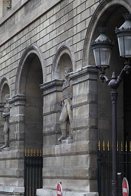 Louvre - Paris France - 011315 Print by DC Photographer