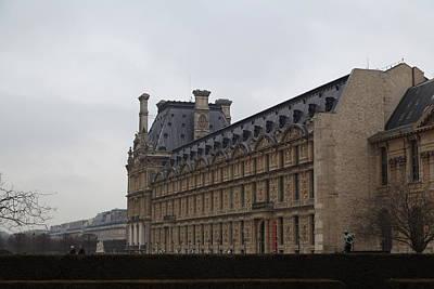 Square Photograph - Louvre - Paris France - 011319 by DC Photographer