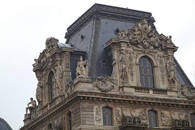 Louvre - Paris France - 011328 Print by DC Photographer