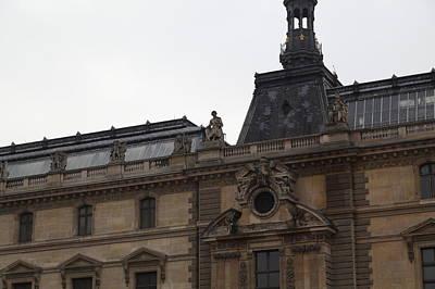 Horizontal Photograph - Louvre - Paris France - 011329 by DC Photographer
