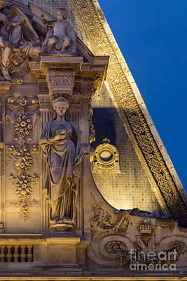 Louvre Roof Print by Brian Jannsen