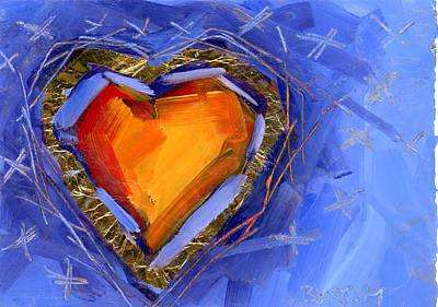 Painting - Love And Kisses by Mary Byrom
