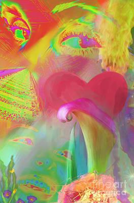 Love And Mayhem Print by Michelle Wiarda