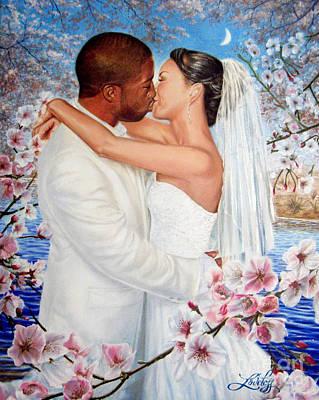 Love Blossoms Original by James Loveless