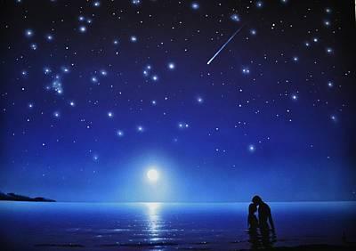 Love By Moonlight Original by Thomas Kolendra