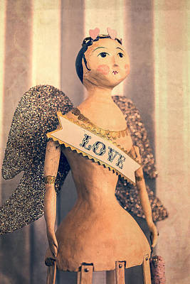 Paper Mache Photograph - Love by Caitlyn  Grasso