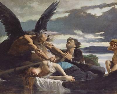 Love Dies In Time Print by Edouard Debat-Ponsan