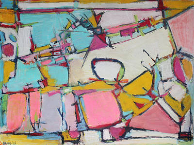 Hari E. Thomas Painting - Love Finds A Way by Hari Thomas