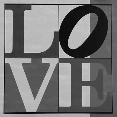 Indiana Scenes Digital Art - Love In Black And White 2 by Rob Hans
