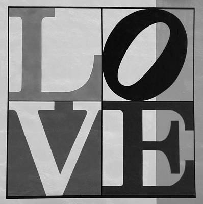 Indiana Scenes Digital Art - Love In Black And White by Rob Hans